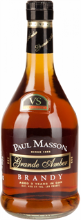 Paul Masson Brandy Grande Amber VS 375ml...